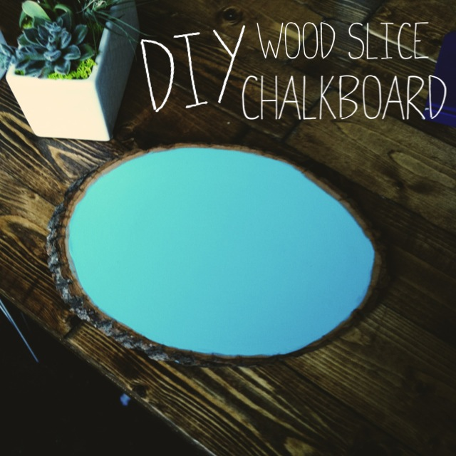 DIY Craft Chalkboard