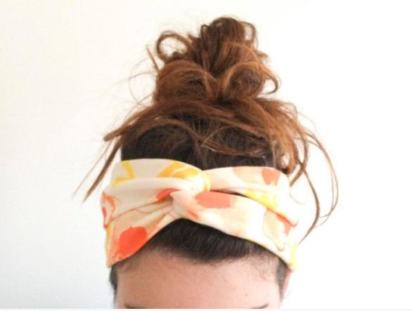 criss cross headband diy