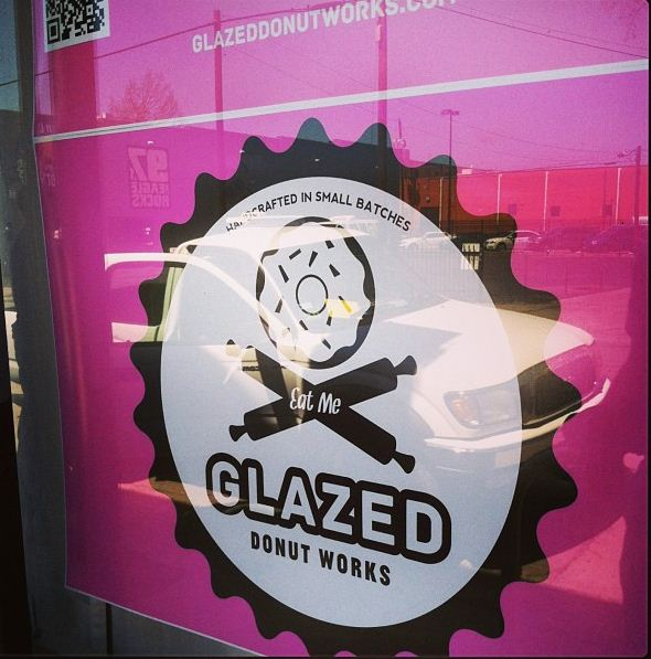 glazed donut works