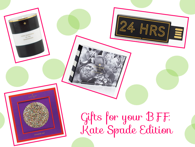 gifts for your bff kate spade