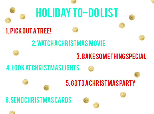 christmas fun list