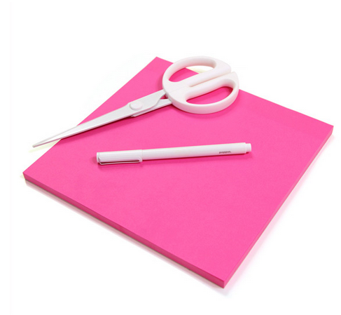 Pink Poppin Giant Sticky Pad